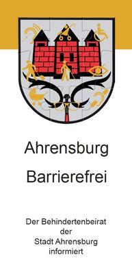 Infoflyer Ahrensburg Barrierefrei