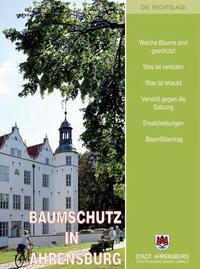 Broschüre Baumschutz in Ahrensburg